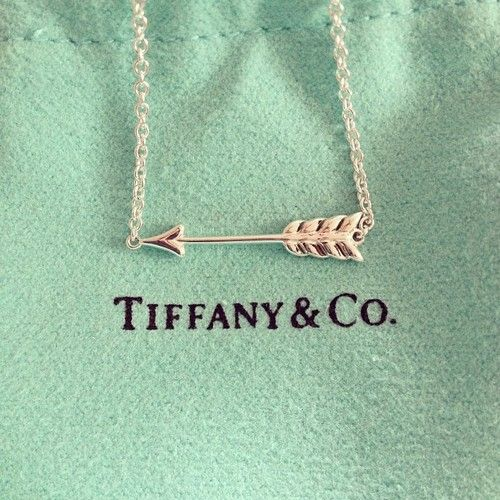Tiffany's Arrow Necklace
