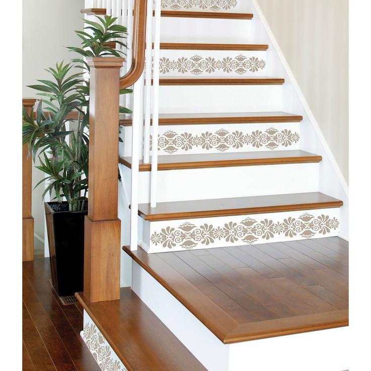 kolkata stripes decal for stairs