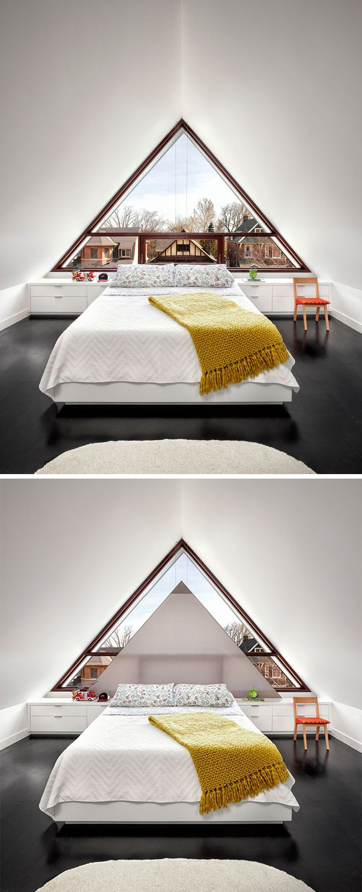 Room Attic Room Replaces The Gable With A Large