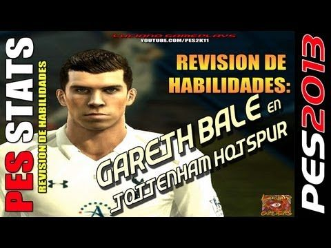 Stats Gareth Bale en Tottenham Hotspur / Revision habilidades PES 2013 +...