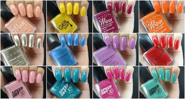 Curious how our Gel Finish 7-in-1 Nail Enamel will look on you? This #ManiMonday check out blogger, Intense Polish Therapy's swatch fest for demos of our trendiest shades! #AvonCanada