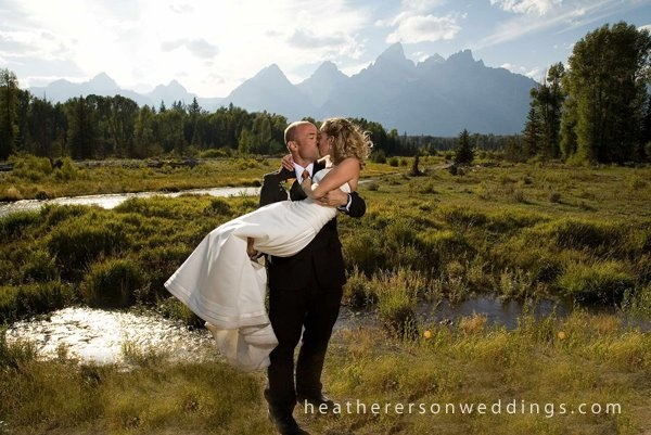 Jackson Hole wedding: Wedding D, Jackson Hole Wedding