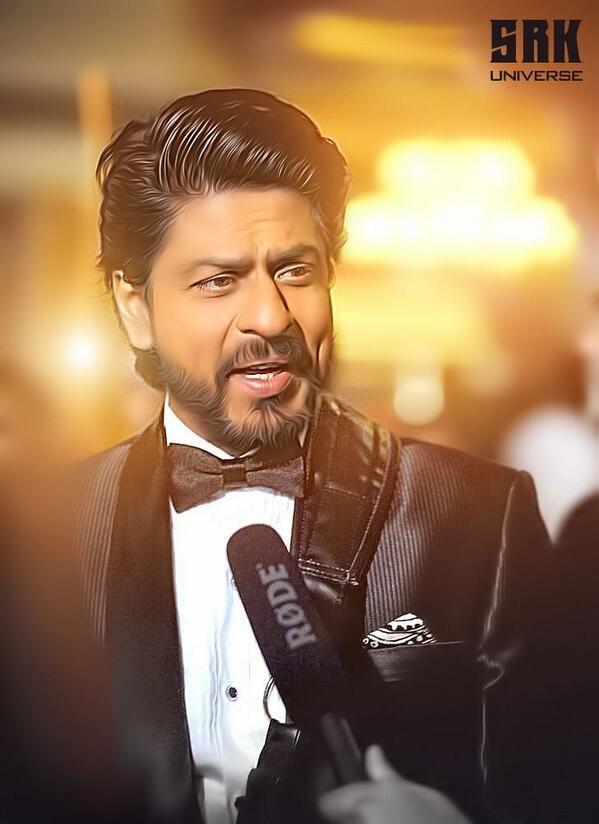 Embedded image permalink-Beautiful edit of SRK by our resident editor Ganesh Kumar. SRKUniverse