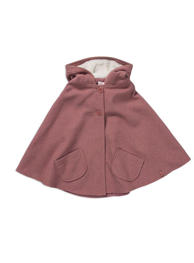 Pumpkin Patch - rose textured cape