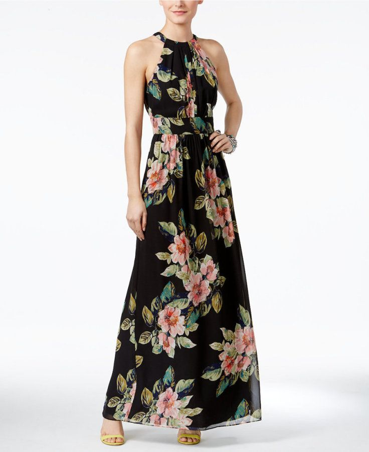 Macy's - INC International Concepts Floral-Print Maxi Dress