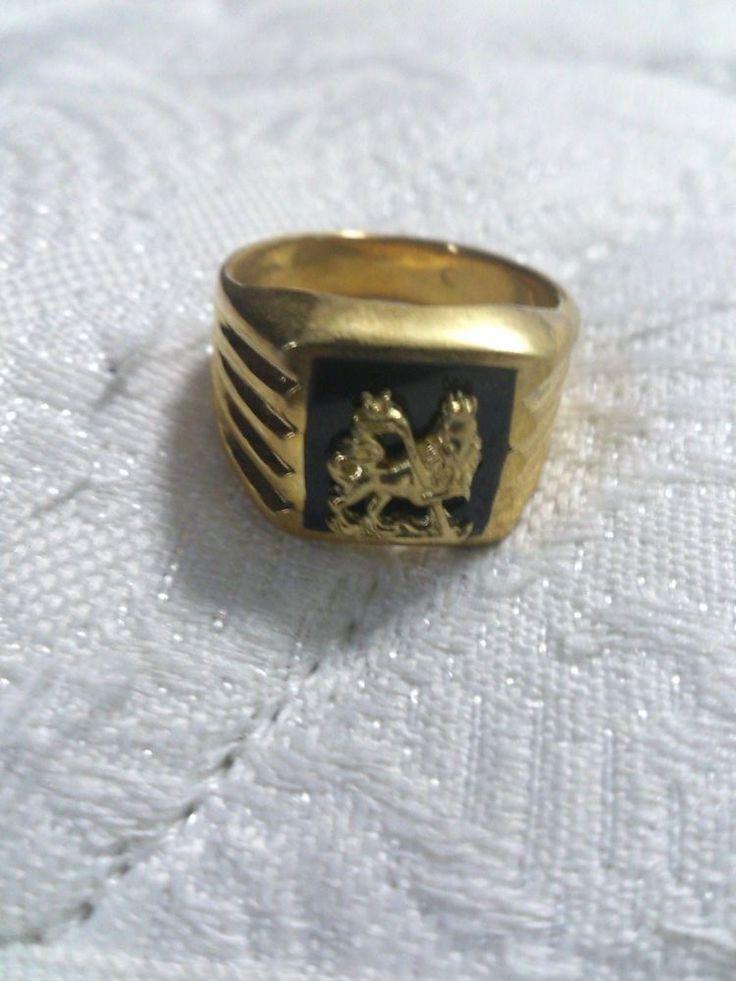 Rasta Gold Rings