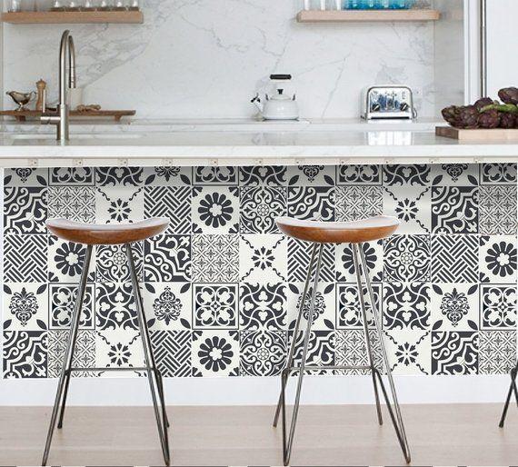 Tile Decals Tuiles Pour Cuisine Bathroom Back Splash Floor