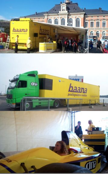 Head of the Baana broadband marketing in 2003-2004. Boost brand awareness + 42% and market share by events and large roadshow for 20 cities. This was time when broadband was something new.