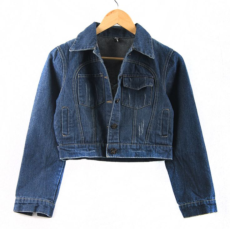 Find More Basic Jackets Information about Spring Girl New Denim Pocket Frayed Female Outerwear Turn down Collar Worn White Washed Vintage Short Woman Jeans Jackets,High Quality jacket camo,China jean jacket lined Suppliers, Cheap jean jacket patches from Comme t'y es belle! on Aliexpress.com