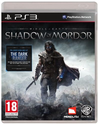 Middle Earth: Shadow of Mordor (PS3)