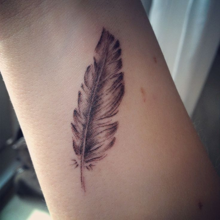 best 25 feather tattoo wrist ideas on pinterest feather tattoos feather tattoo quotes and. Black Bedroom Furniture Sets. Home Design Ideas