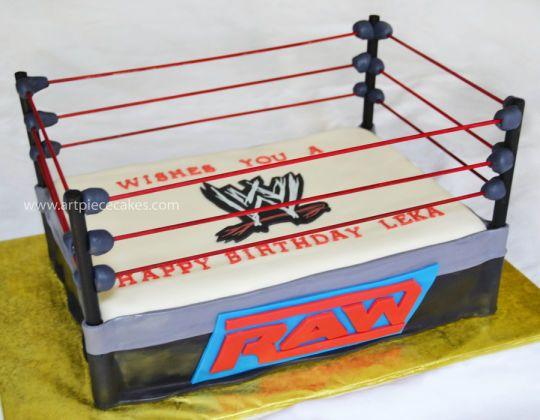 Wrestling Cake - CakesDecor