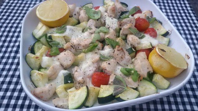 Kyra@Home: Romige kipfilet met groenten en mozzarella uit de ...