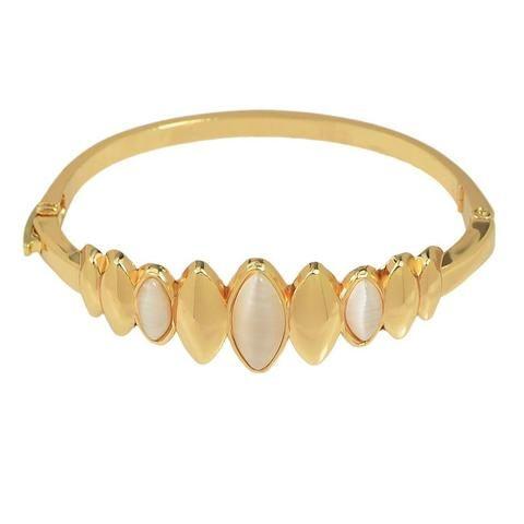 Fashion Bracelet - Tiran Gold Bracelet With Opal Water Drop Design