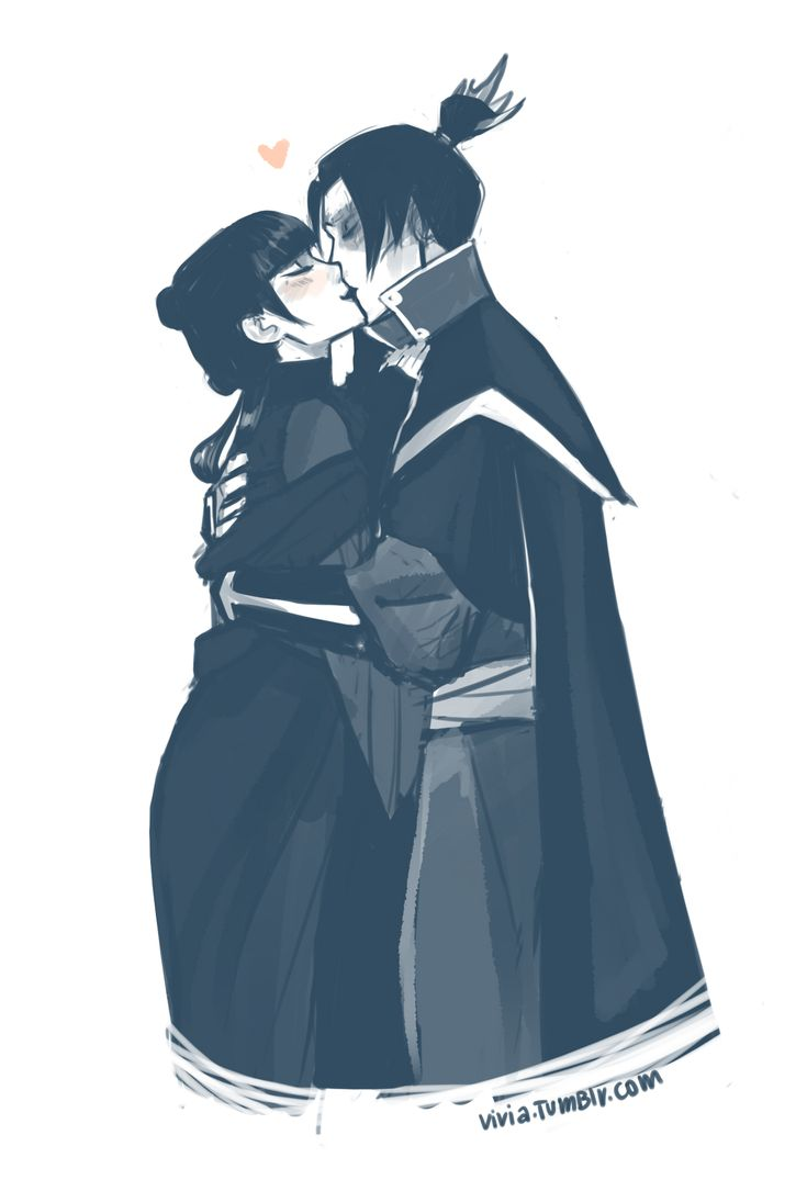Mai and Zuko from viria.tumblr.com >> Viria does some of my favorite fan-art