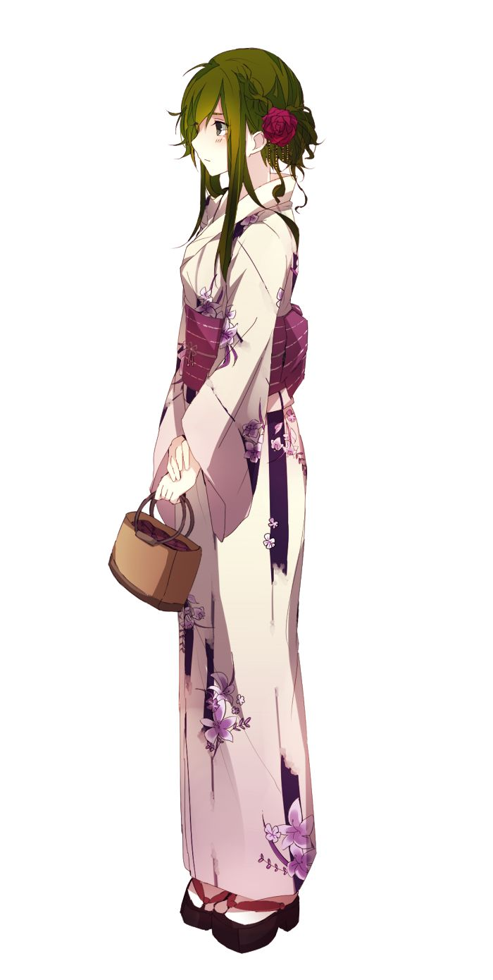 Character Design Kimono : Best images about anime girls character design on
