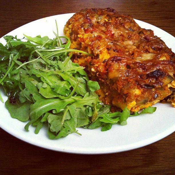 Low Fat Vegetarian Lasagne 118