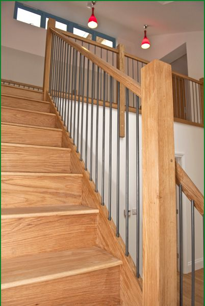 No.88 Eco House With Metal Spindles Case Studies   Pear Stairs. Price £
