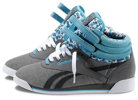 Reebok Women's Freestyle Hi R12 Shoes | Official Reebok Store