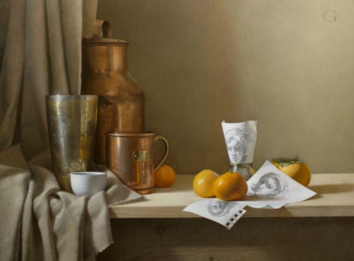 Favoloso 65 best Artist - David Gray images on Pinterest | Oil on canvas  LI54