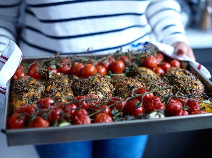 Kyckling med marockansk chermoula