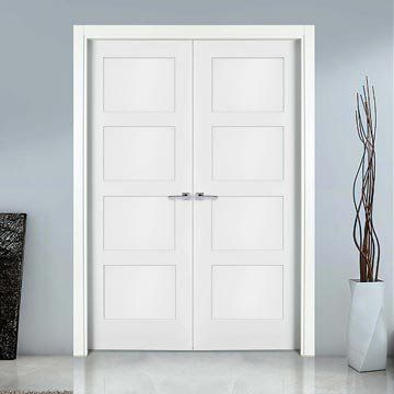 The prefinished Sanrafael Lifestyle 9400R Double Door with 4 panels. #sanrafaeldoors