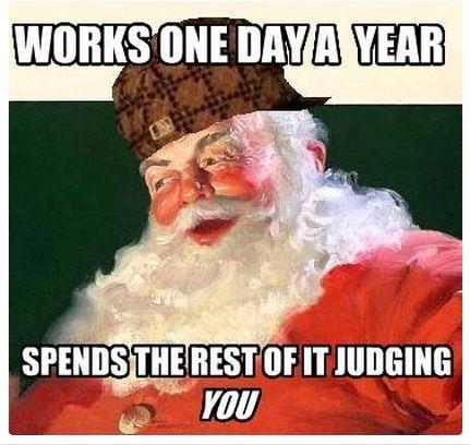 Scumbag Santa Claus www.polokozpont.hu