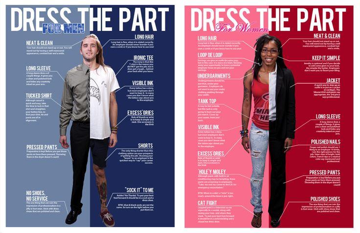 Dress Code for Career Fair Tech Blog Pinterest Code