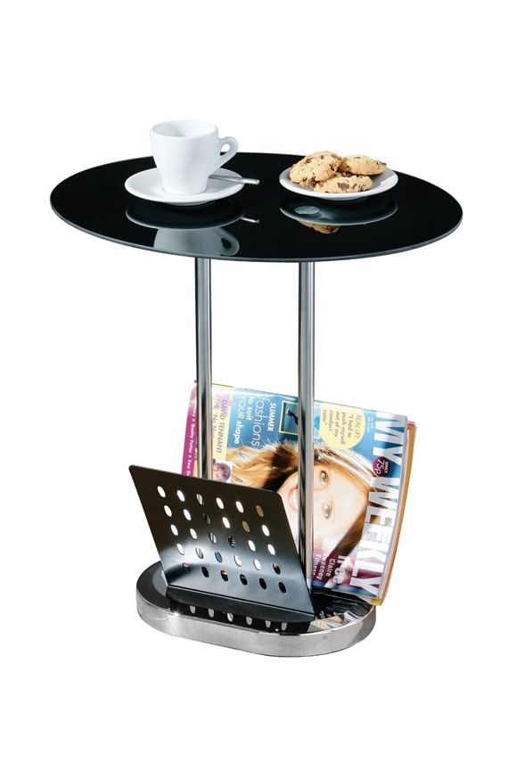 Small Coffee Table Holder Organizer Side Living Room Modern Chrome Desing  Offise In Home, Furniture U0026 DIY, Furniture, Tables, Coffee Tables