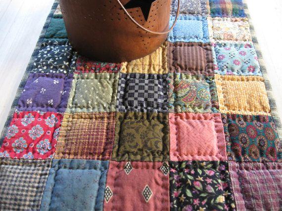 Las 25 mejores ideas sobre alfombra acolchada en - Alfombra patchwork ...