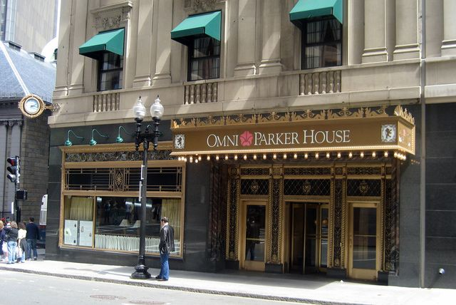 Haunted Boston: A Self-Guided Ghost Tour: Omni Parker House