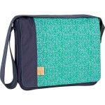 Sac à langer mallette Lassig Messenger Bag Casual Blossy navy bleu - Collection 2015