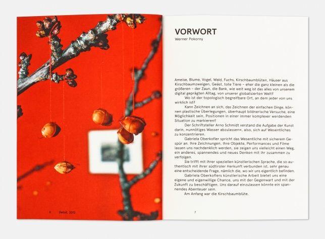 Am Anfang war die Kirschbaumblüte - Hubert & Fischer | Graphic Design, Art Direction, Visual Communication