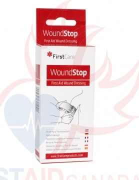 WoundStop Compress Bandage - 10 x 12cm  www.FirstAidCanada.com