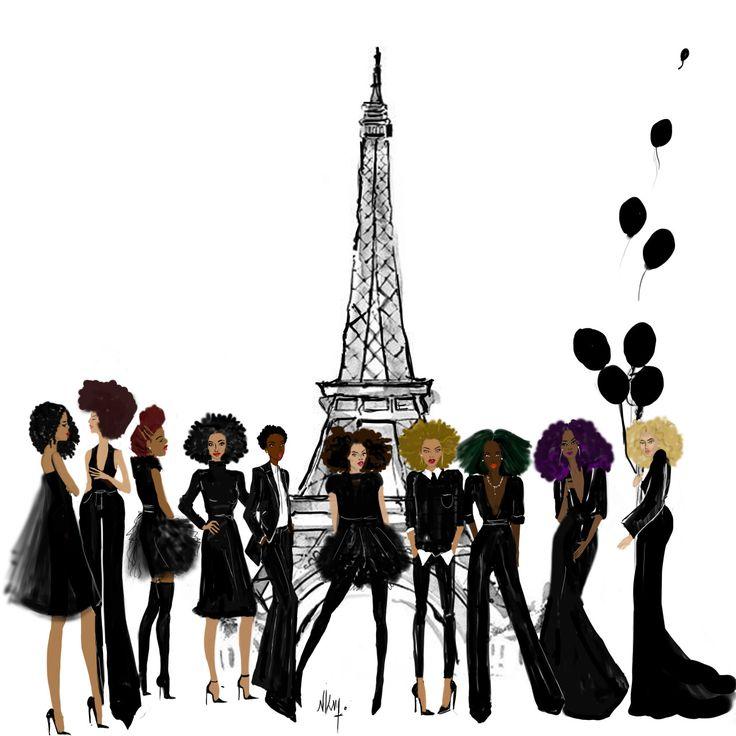 "nikisgroove: ""All Black Everything Paris """