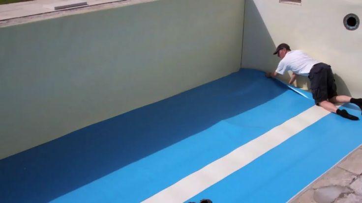Pool selber bauen mit Pool-Folie: das Video zeigt,…