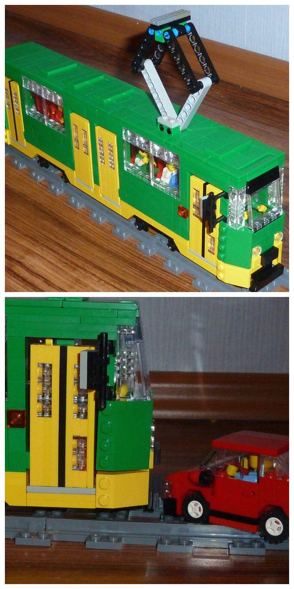 Model tramwaju Konstal 150Na wykonany z klocków LEGO przez Mateusza Wawrowskiego. Na pracę można zagłosować tutaj: http://lego.cuusoo.com/ideas/view/52880