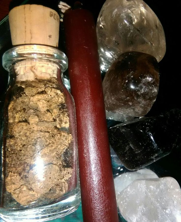 Grounding Spell Kit, Smoky Quartz, Valerian Root Brown Candle, Witchcraft, Pagan  | eBay