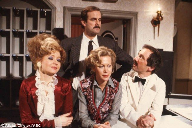 Fawlty Towers: It is easy to forget that only 12 episodes were made of the cult comedy series featuring John Cleese as Basil Fawlty, Prunella Scales as his wife Sybil, Connie Booth as Polly and Andrew Sachs as Manuel