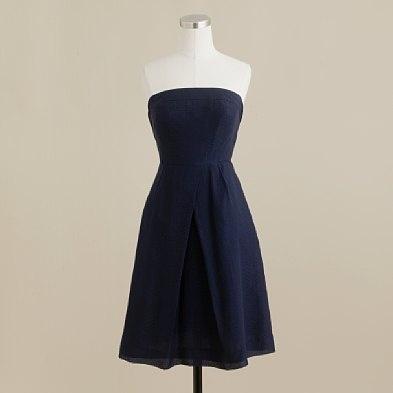 Bridesmaids- super simple navy sundress