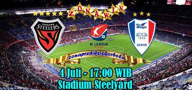 Prediksi Pohang Steelers vs Suwon Bluewings 4 Juli 2015