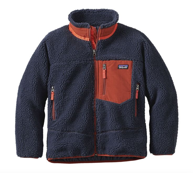 Patagonia Kids' Retro-X® Fleece Jacket - Smolder Blue
