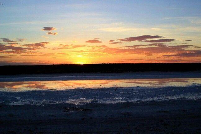 Lake Cadi SA - Sunset