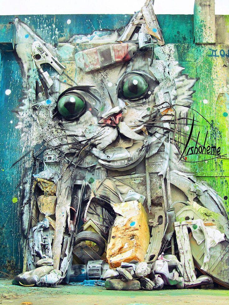 Street Art à Lisbonne - Ma collection personnelle - Lisbohème