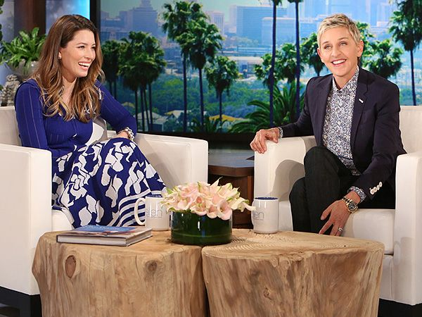 Jessica Biel Laughs Off Pregnancy Rumors: I Have a Gut Apparently