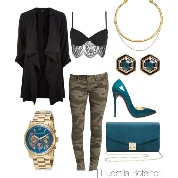 A fashion look from October 2015 featuring True Religion jeans, Topshop bras and Christian Louboutin pumps. Browse and shop related looks.