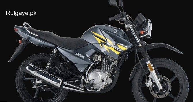 Yamha Ybr 125 Grey Color On Installment Basis At S