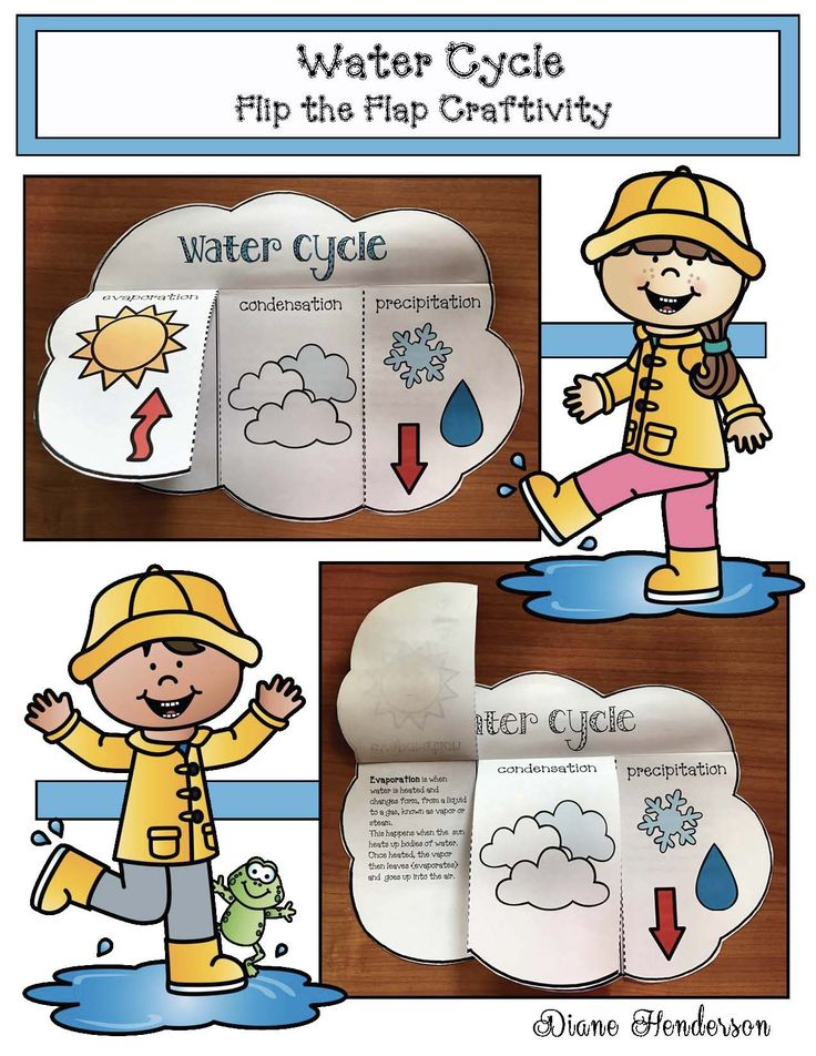 Best 20+ Water cycle craft ideas on Pinterest : Water ...