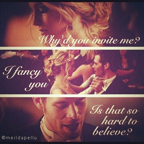 Vampire Diaries Love Quotes Klaus Pin by Sweets b...