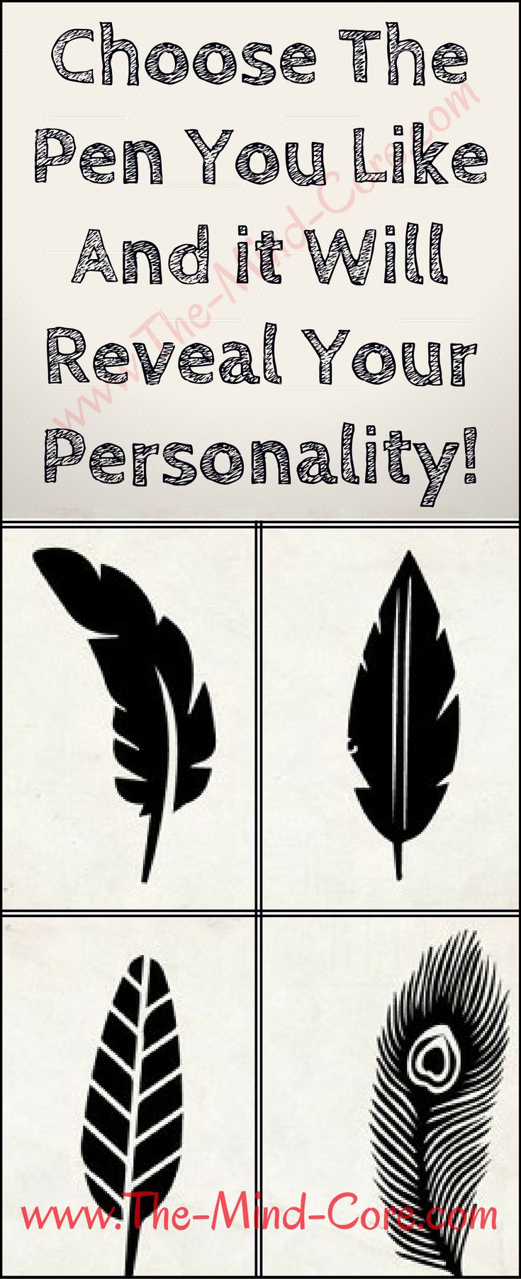Choose The Pen You Like And it Will Reveal Your Personality....!